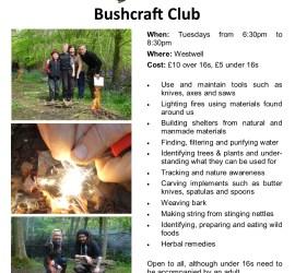 Bushcraft club 2018 | Kent