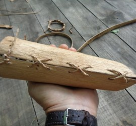 bark containers | bushcraft | Kent | south east | London