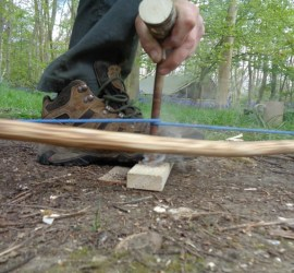 starting a fire with a bow drill | Fault finding for bow drilling | bow drilling | bushcraft | Kent | London | south east