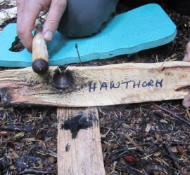 Alternative bow drilling methods | bushcraft | Kent | London | south east