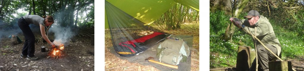 applied bushcraft training | Kent | southeast | London