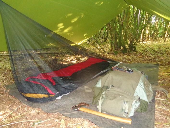 selecting a tarp   bushcraft   Kent   south east   London
