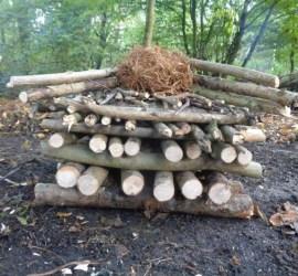 criss cross fire | fire lays | bushcraft | Kent | south east | London
