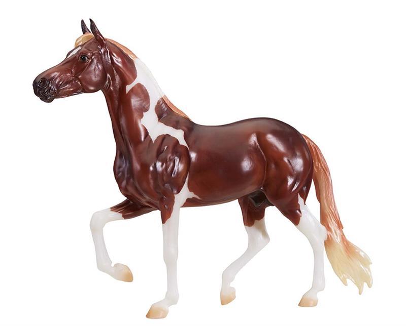 Breyer Horses Traditional Size Enzo Mangalarga Marchador #1819 Chestnut Pinto Overo