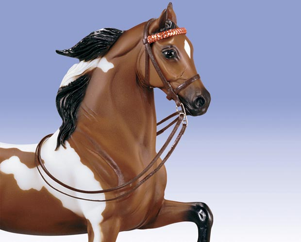 Breyer Model Horses Traditional Size English Show Bridle Leather #2459