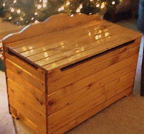 Toy Box Plans Or Pattern Jacks Furniture Plans