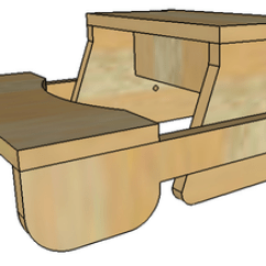 Wooden Step Stool Chair Event Covers Vancouver Folding Plans Or Pattern For The Kids Complete Video Picture