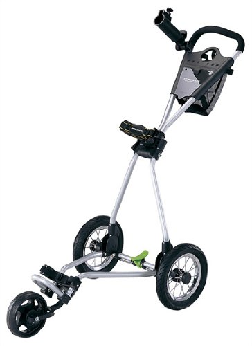 CaddyTek One-Click Folding 4 Wheel Version 3 Golf Push Carts