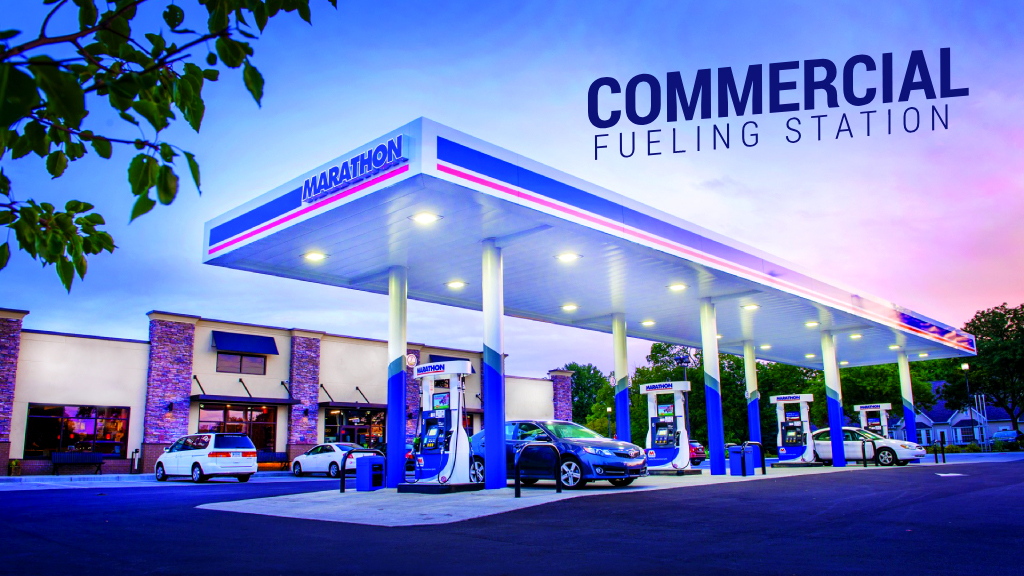 commercial fueling station