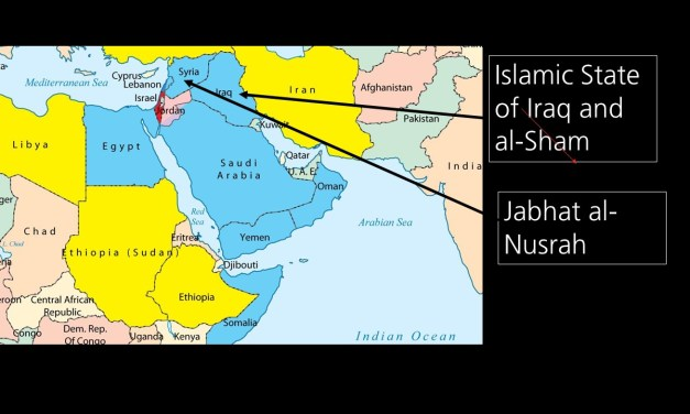 "Islamic State of Iraq and al-Sham (Syria) overuns Mosul (ancient ""Nineveh"") and threatens Baghdad"