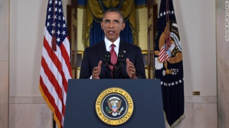 President Obama on eve of 9/11 addressing nation on ISIS