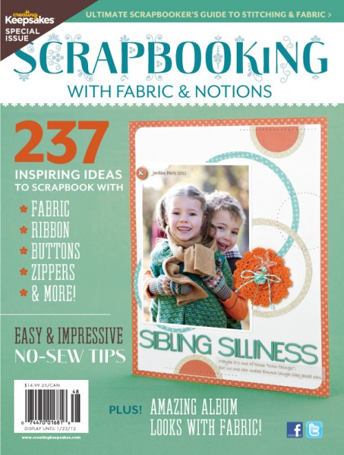 Scrapbooking with Fabric & Notions