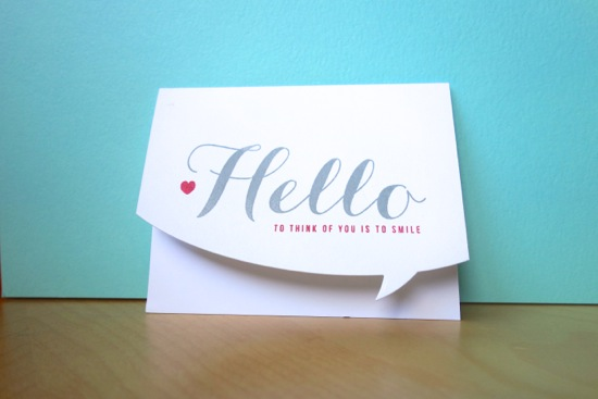 Say Hello Card