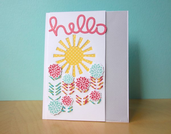 Hello Card for Timeless Twine Collaboration