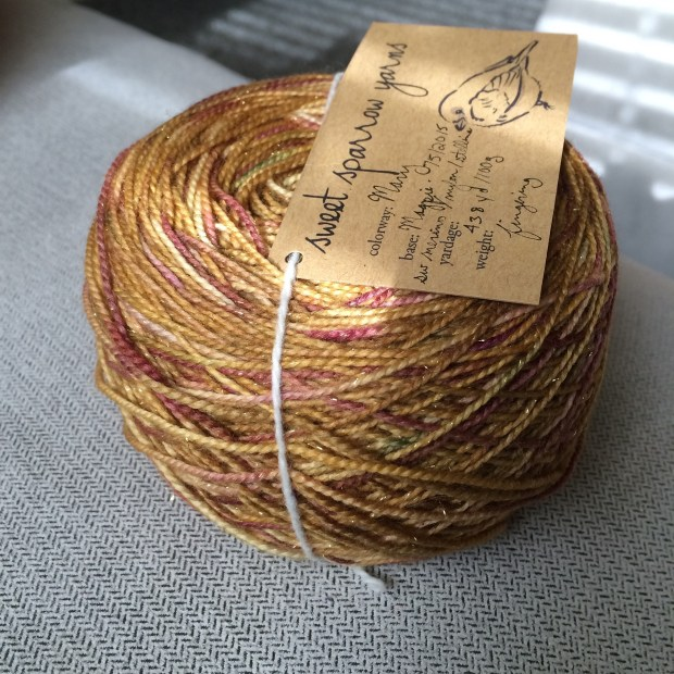 Sweet Sparrow Yarns: Mary in Magpie
