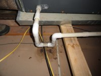 Furnace condensate drain line leaking during a Jackson ...