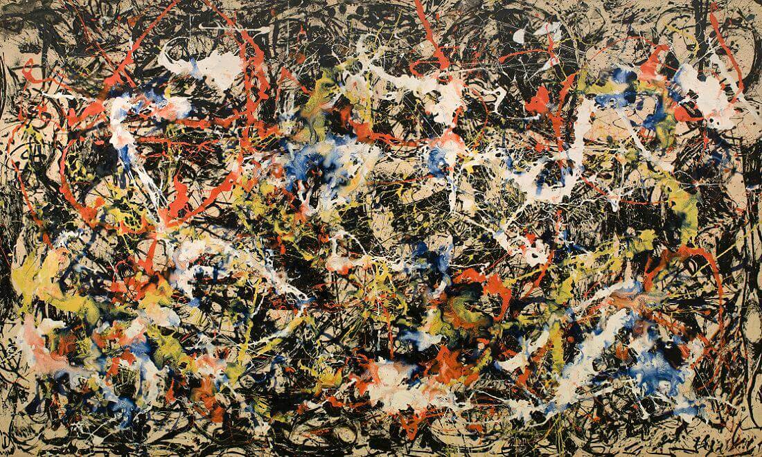 The Yellow Wallpaper Important Quotes Convergence 1952 By Jackson Pollock