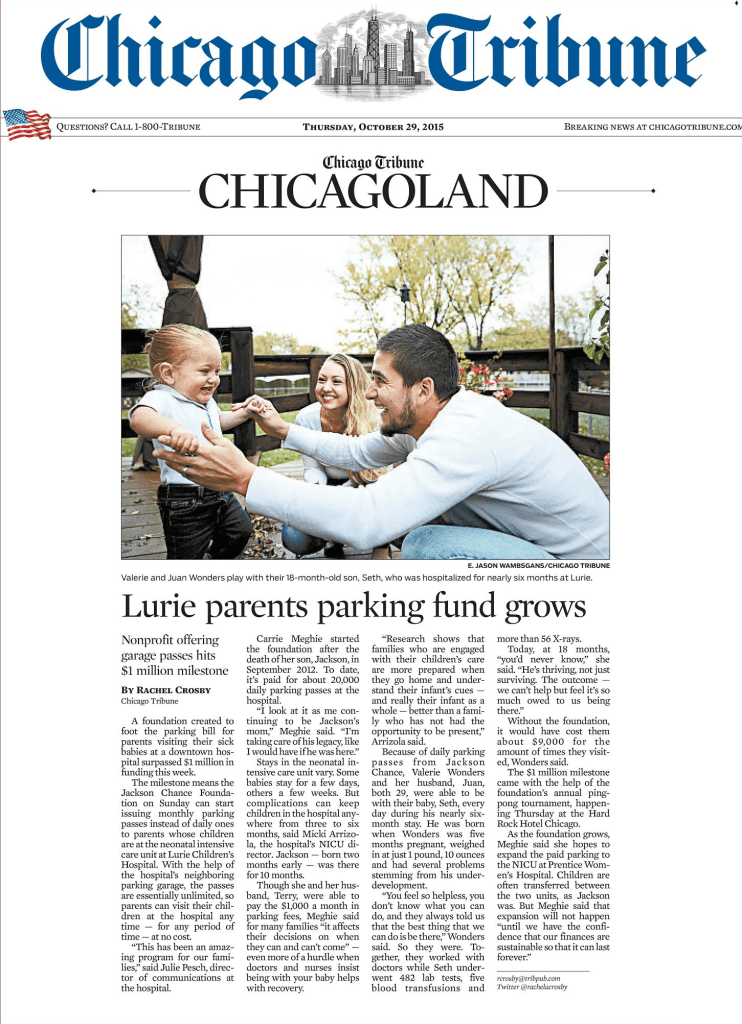 Chicago Tribune October 29 2015