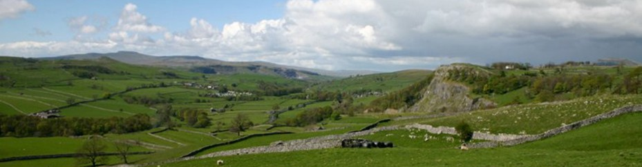 Ribblesdale panorama