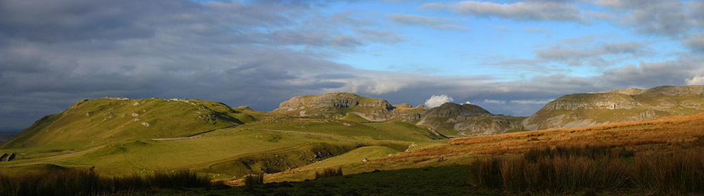 Knolls and scars of Attermire, above Settle