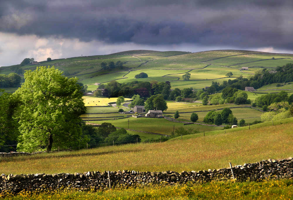 Changing light, Ribblesdale