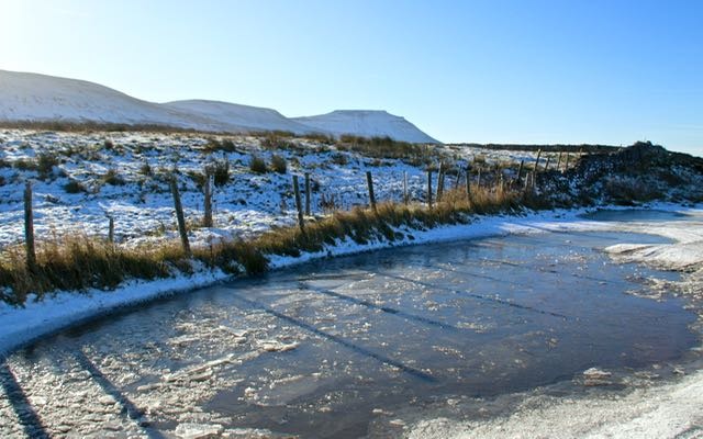 Icy Ingleborough