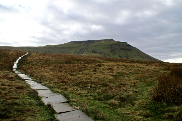Ingleborough path