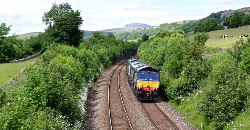 ribblesdale - train