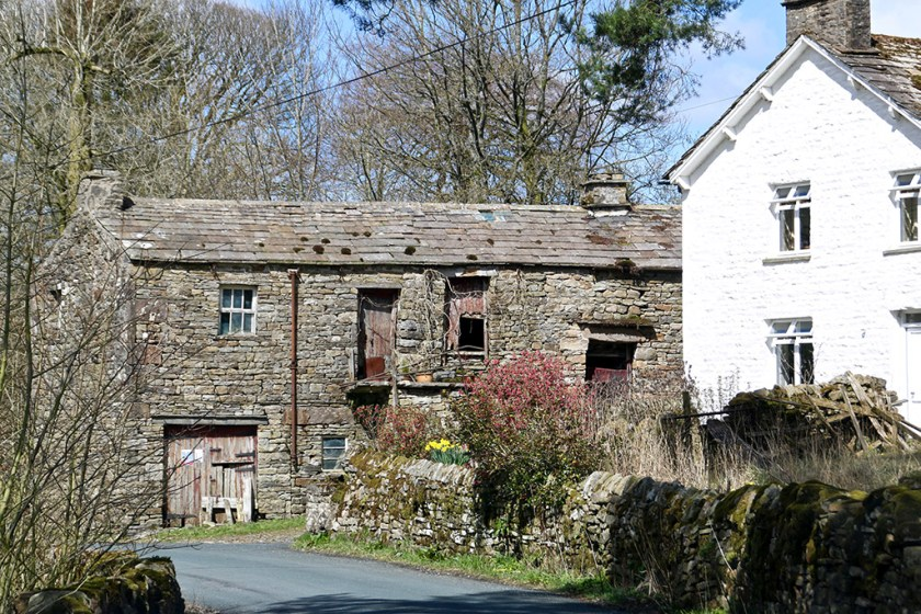 Ribblesdale cowgill barn