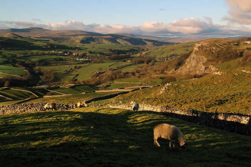 Dales - Ribblesdale from Langcliffe