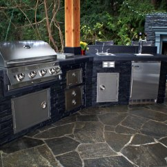 Stainless Steel Kitchen Trash Can Lights Home Depot Gas Grills & Outdoor Kitchens   Gallery Jackson