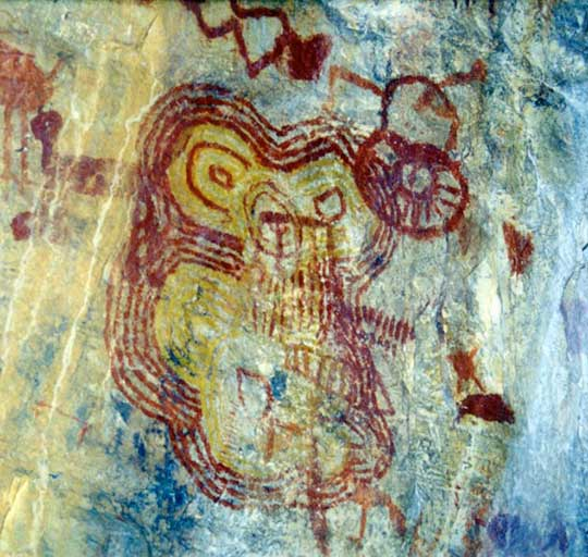 Photo of Rock Art in Chapada Diamantina, by Jackson Rubem
