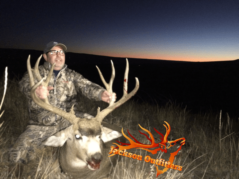 2015 3rd rifle buck scored 178″