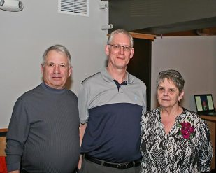 Jeff with honorees John and Gayle Clements