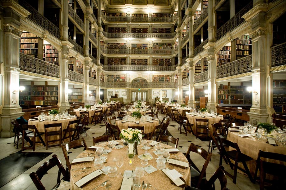 The George Peabody Library  Jackson Photography  Modern Wedding and Event Photography In