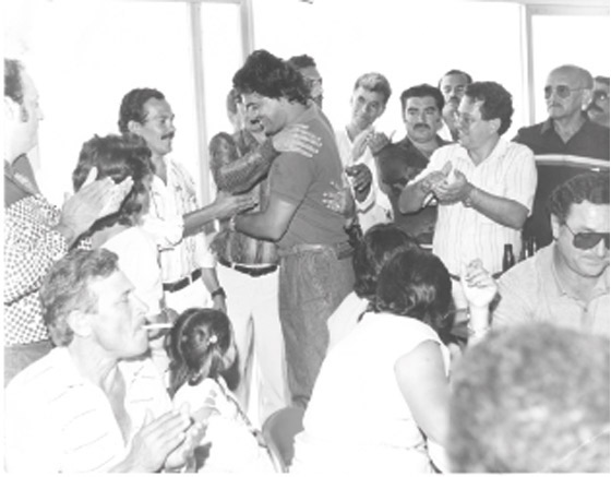 Foto da posse de Doinha