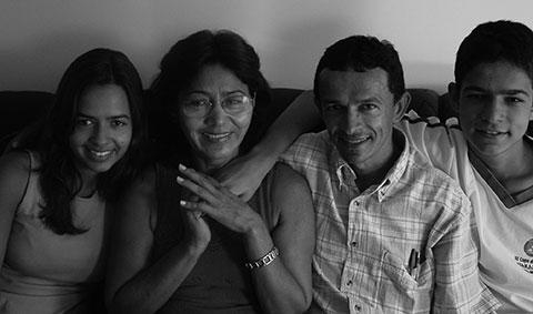 Foto Dr. Paulo Heber com a família