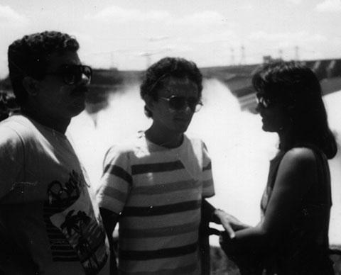Foto: Dr. Paulo Heber, em visita a Barragem de Itaipu