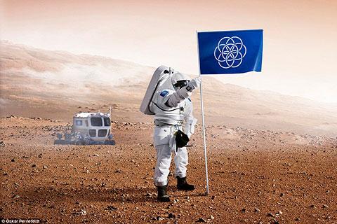 Bandeira Internacional da Terra - Foto
