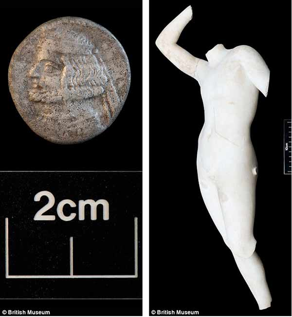 Conheça duas imagens encontradas na cidade perdida de Alexandre O Grande