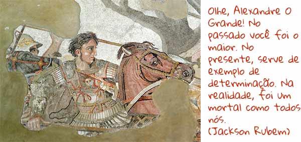 Bucéfalo, na Batalha de Isso, imagem relacionada a cidade perdida de Alexandre O Grande