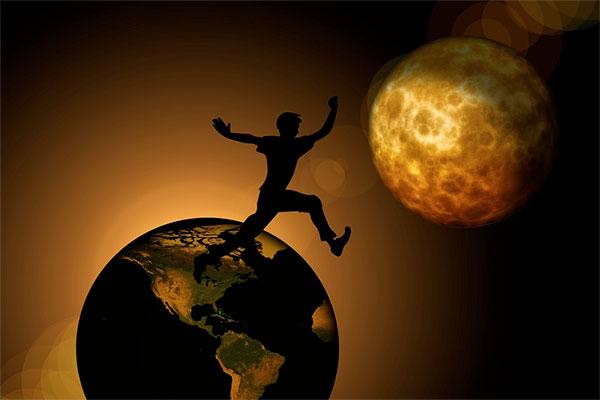 O fim do mundo está próximo - imagem ilustrativa do fim do mundo em 23 setembro de 2017