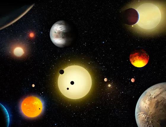 Imagem de exoplanetas ou outras terras