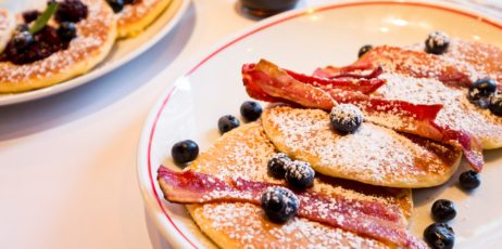 Jackson +Rye Brasserie - Buttermilk Bacon and Maple Pancakes