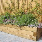 How To Build A Raised Garden Bed With Sleepers Jacksons Fencing