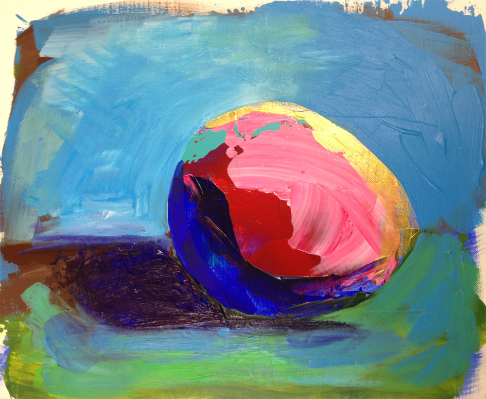 sennelier abstract acrylic colour