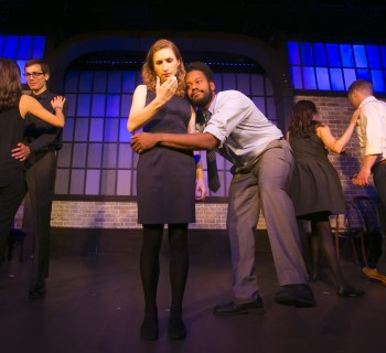 5/11/15 8:51:14 PM -- Chicago Illinois  The Second City Blue Company Traveling Group  ©Todd Rosenberg 2015
