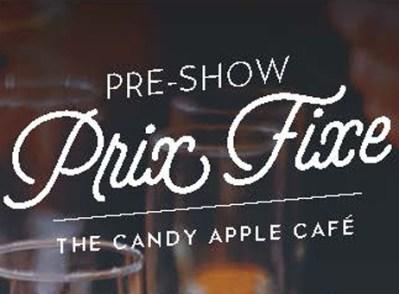 Pre Show PrixFixe-3