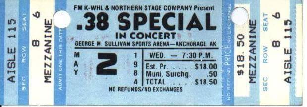 Anchorage Ticket