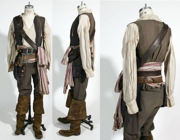 Captain Jack Sparrow Pirate Costume